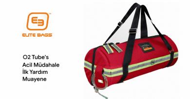 O2 Tubes – Acil Oksijen Müdahale, İlk Yardım ve Medikal Muayene Çantası