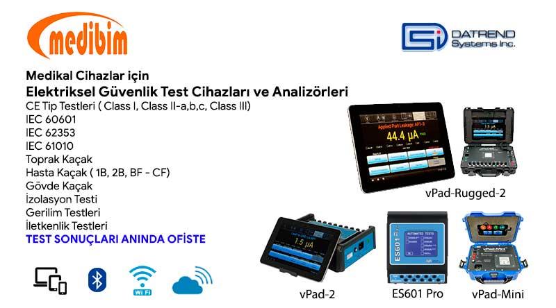 Elektriksel Güvenlik Test Cihazı ve Analizörü