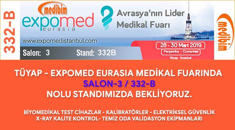 Medibim Expomed Eurasia 2019 Fuarı