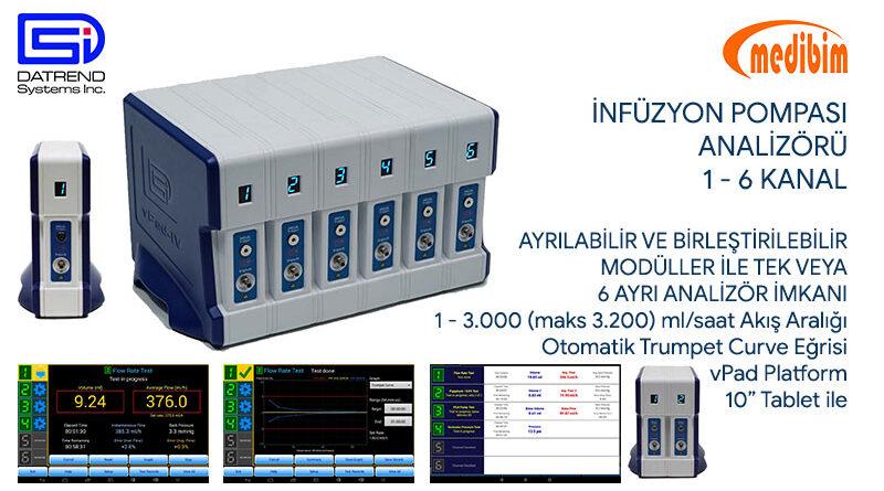 vPad-IV İnfüzyon Test Analizörü